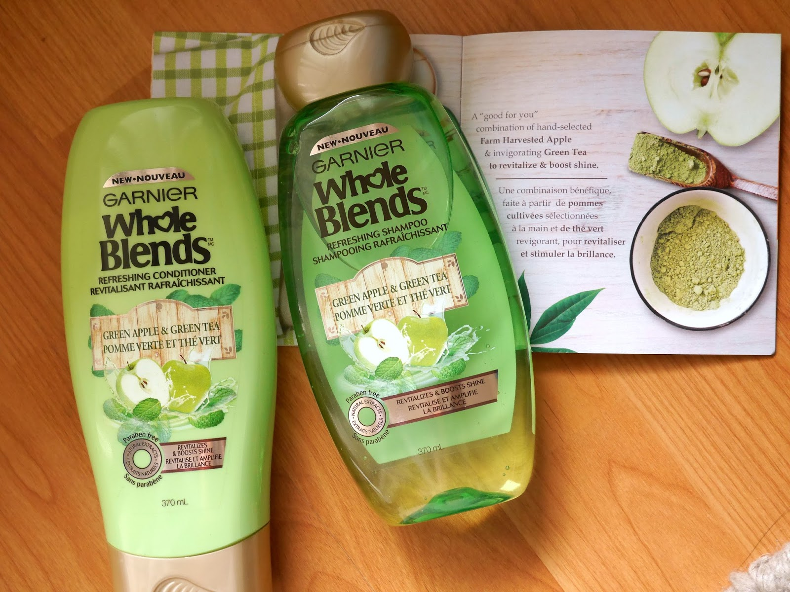 Garnier Whole Blend Green Apple and Green Tea