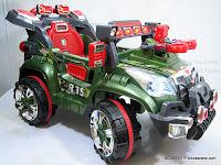 3 Mobil Mainan Aki Junior QX7566A Rocket Jeep