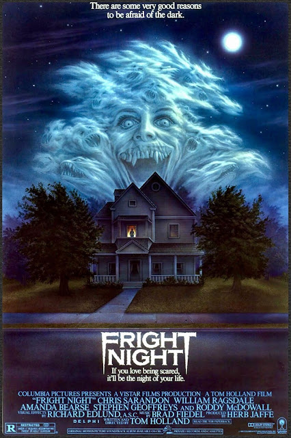 Póster original película Noche de Miedo