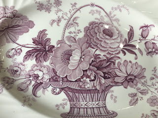 Purple Transferware