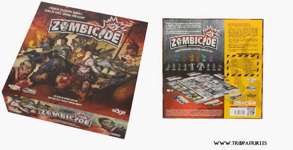 Juego de mesa de zombis: Zombicide 76,95€