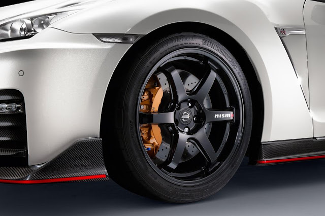 2016 Introduce New  Nissan GT-R Nismo Release edition wheel view