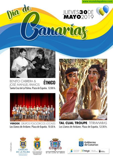 La música tradicional de las islas será protagonista de la programación cultural del Cabildo para celebrar el Día de Canarias