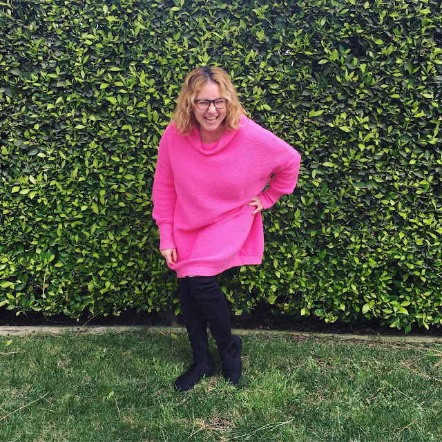 2017, 2018, reflection, Jamie Allison Sanders, On Wednesdays We Wear Pink, Free People sweater dress, #OOTD