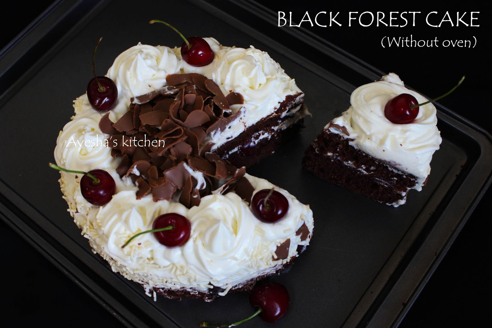 How to make black forest cake | Black forest cake recipe ...