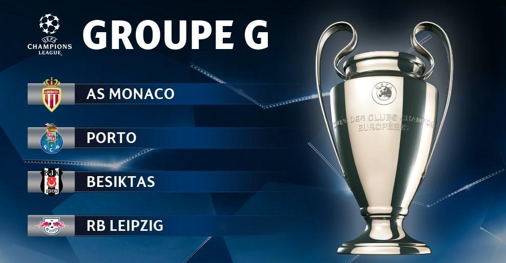 Pronostic Ligue des Champions - Groupe G