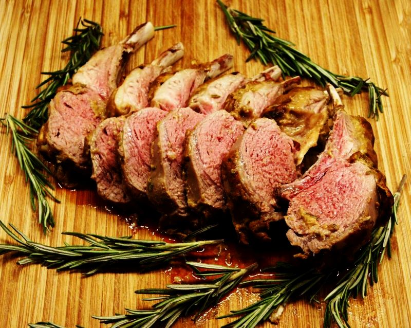 Moveable Feasts Inas Rack Of Lamb