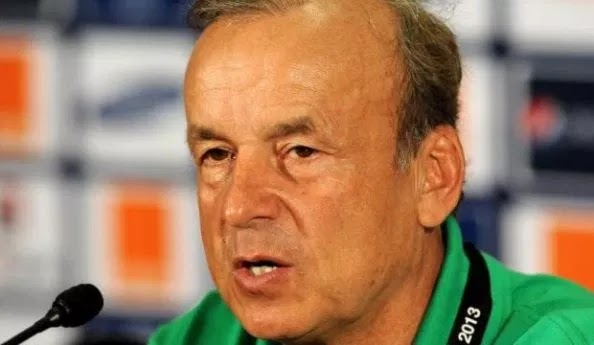 Gernot Rohr Said the Team Nigeria Lost The Match Due To Many Mistakes