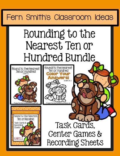 You will love the no prep, print and go ease of this BUNDLE for Rounding to the Nearest Ten or Hundred, Task Cards, Center Games, Color By Numbers, and Printables. Perfect for Third Grade Go Math 1.2 Rounding to the Nearest Ten or Hundred. Your students will adore these Color by Number worksheets while learning and reviewing important skills at the same time! As with most of my resources, answer keys are included! This resource includes Task Cards, Recording Sheets, Center Games, Color By Numbers, Printables, and Answer Keys to compliment any unit on Rounding to the Nearest Ten and Hundred for 3rd Grade.