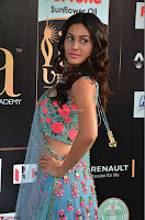 Amyra Dastur in Flower Print Choli Transparent Chunni at IIFA Utsavam Awards 05.JPG