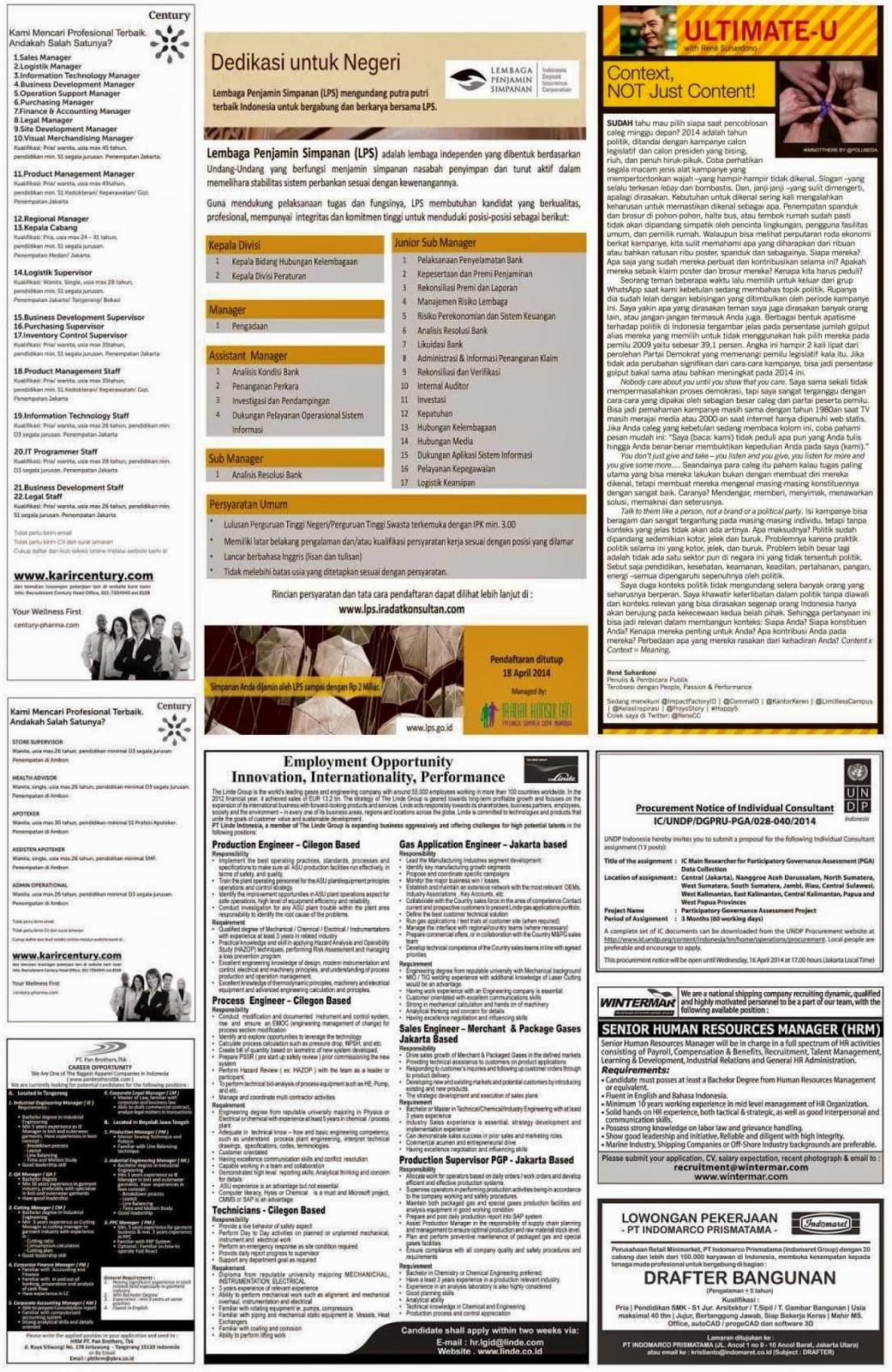 Lowongan Kerja Guru Di Cikarang 2013 Info Terbaru 2016 Info Harian Terbaru Berikut Kami Tampilkan Beberapa Lowongan Kerja Yang Di Muat Di Koran
