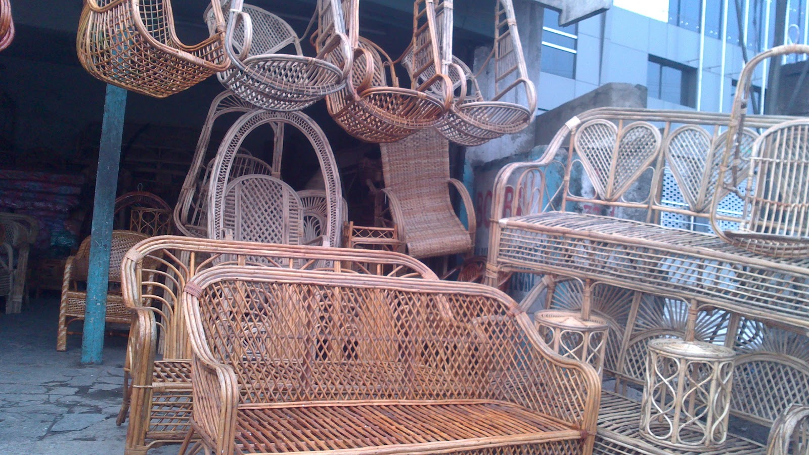 Swing Chair Hyderabad White And Gold Local Markets Marketing