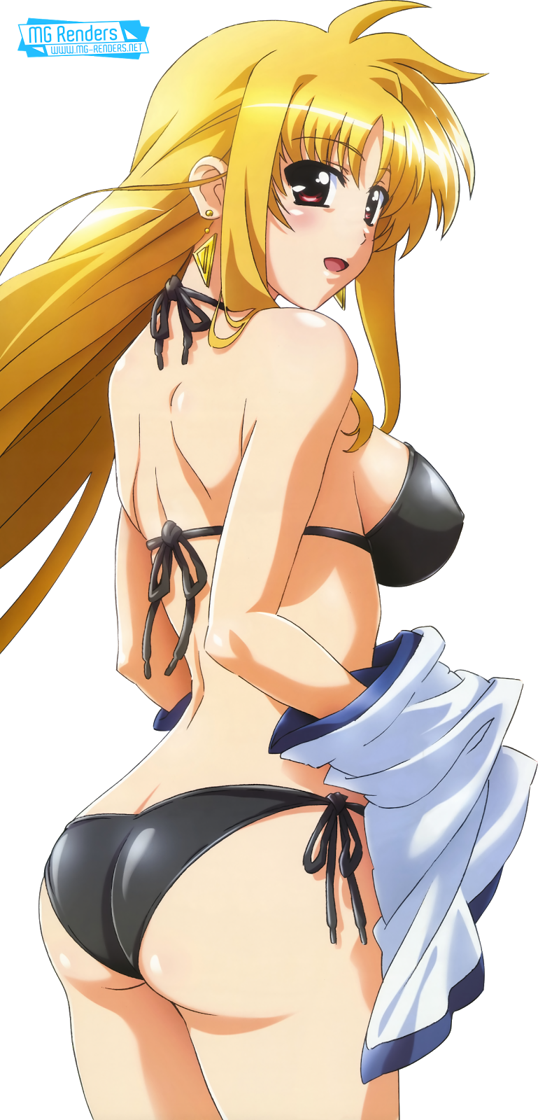 Tags: Anime, Render,  Fate Testarossa,  Mahou Shoujo Lyrical Nanoha,  PNG, Image, Picture