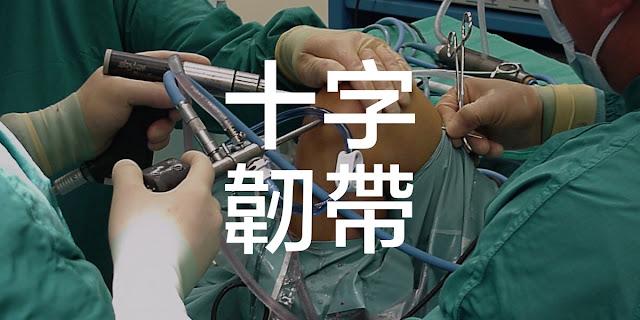 十字韌帶 手術 物理治療