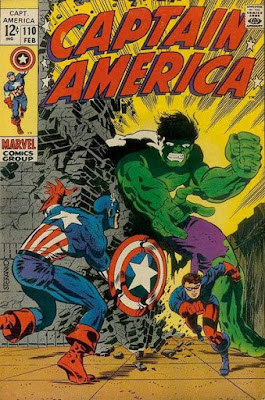 Captain America #110, the Hulk