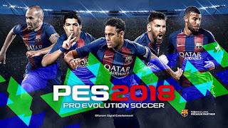 العرض الرسمي للعبة PES 2018