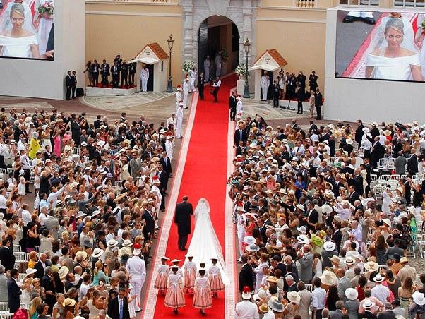 053047107 EXH00 - Casamento Real - Principe Alberto ♥ Charlene Wittstock