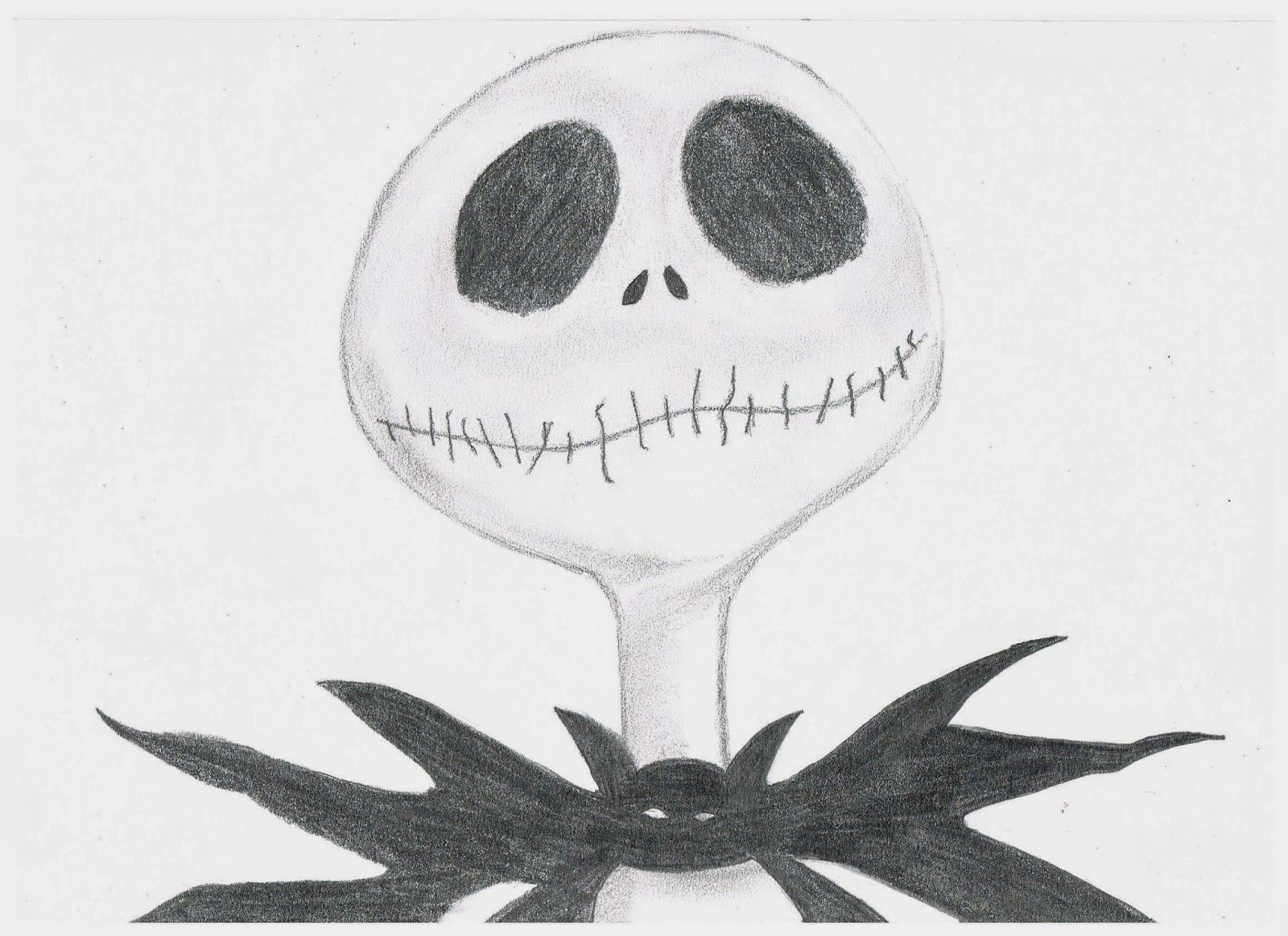 Jack Skeleton Para Dibujar