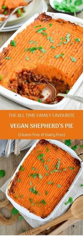 The All Time Family Favourite Vegan Shepherd's Pie