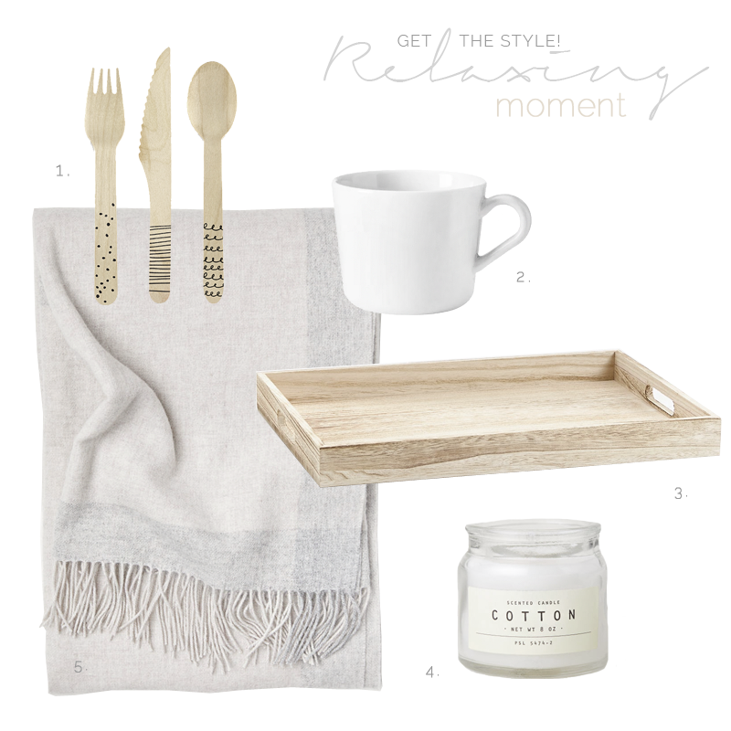 Create a cozy space of relaxation in neutral colors / Crea un rincón acogedor en tonos neutrales