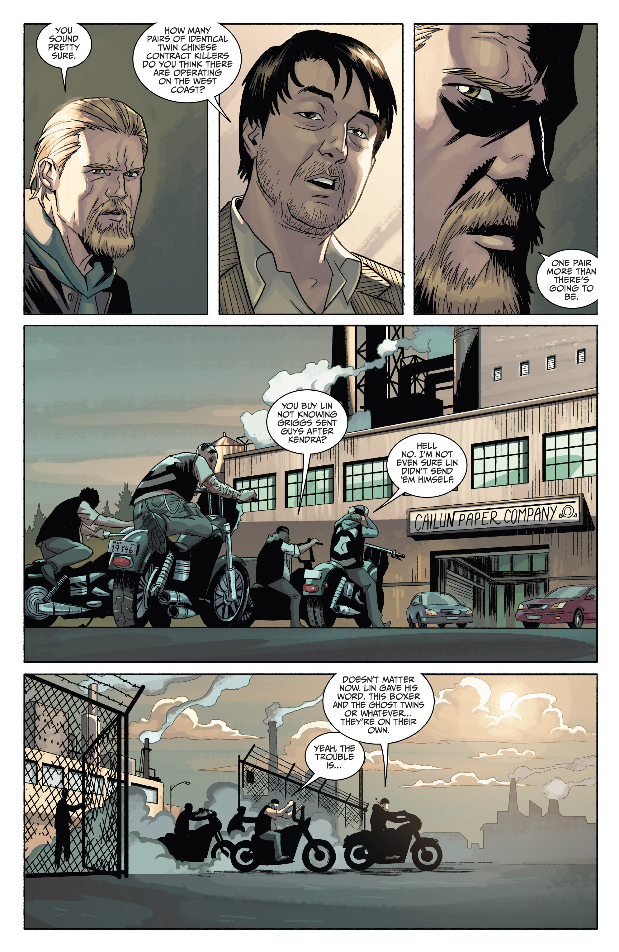 Read online Sons of Anarchy comic -  Issue #4 - 11