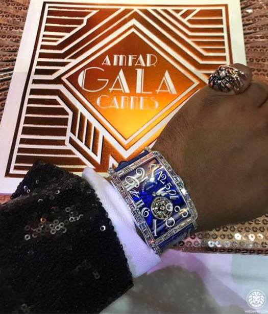 Angolan president's son buys 500,000 euro watch at Cannes