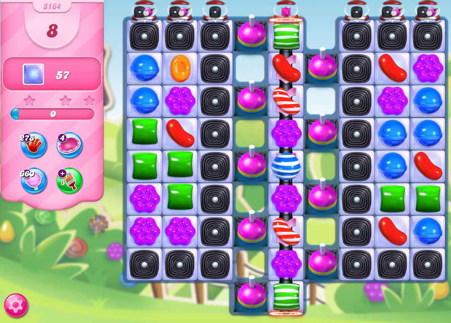 Candy Crush Saga level 3164