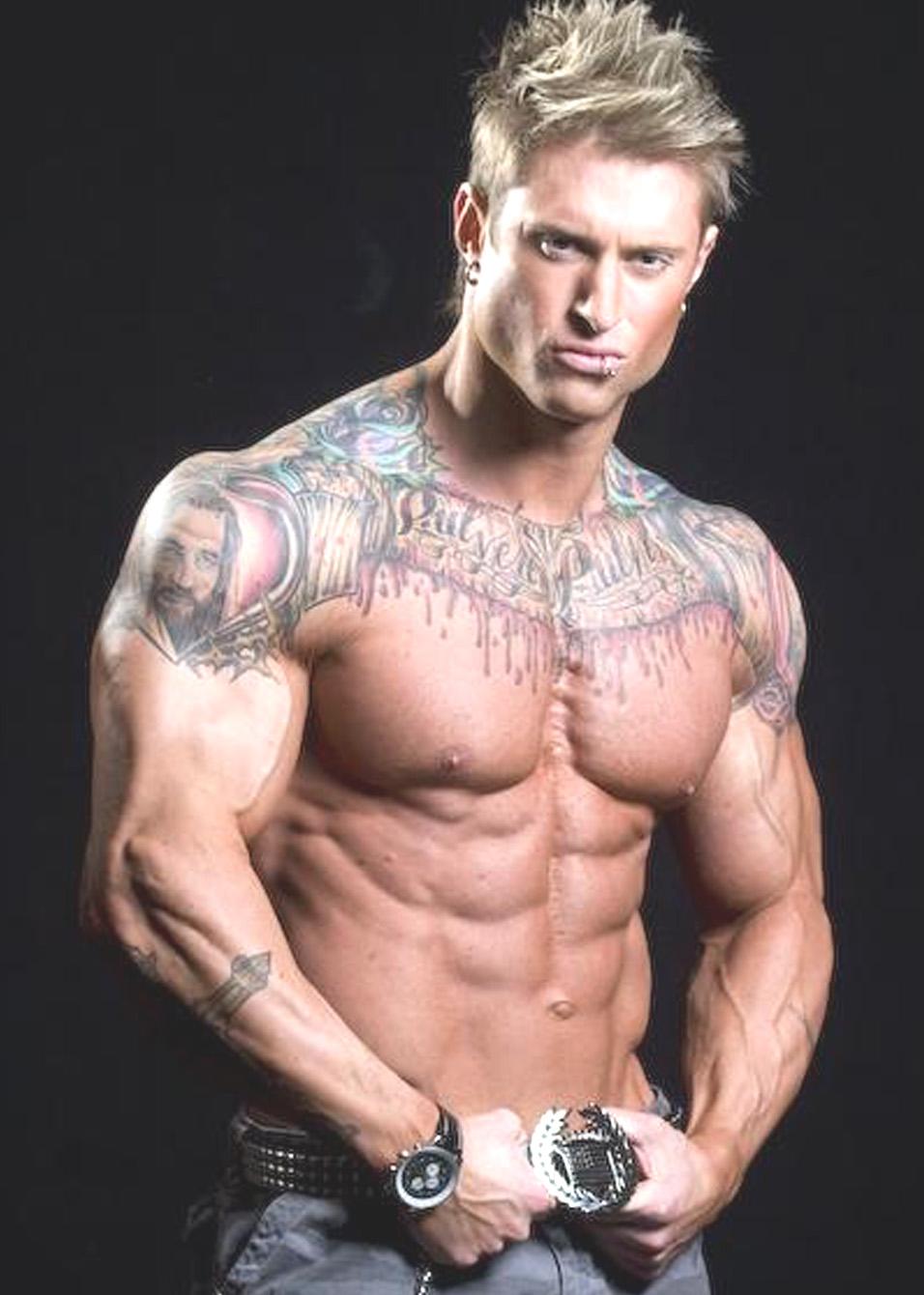 jennifer hawkins Tattoo for Bodybuilders