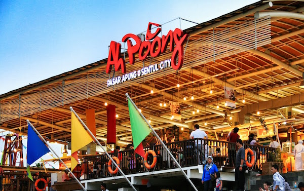 Ah Poong Pasar Apung Sentul City