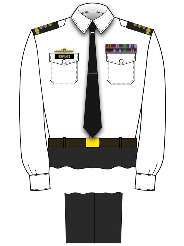 форма адміралів ВМС
