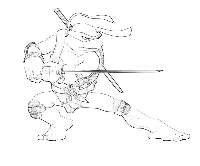Free Printable Teenage Mutant Ninja Turtles Coloring Pages Best