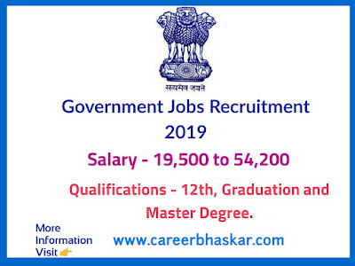 Government Jobs May 2019
