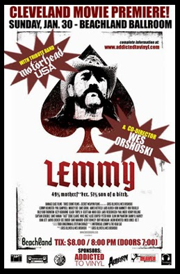 Lemmy Motörhead DWDD documentaire movie film