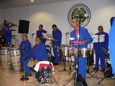 Foto de la Sonora Ponceña en uno de sus tantas presentaciones