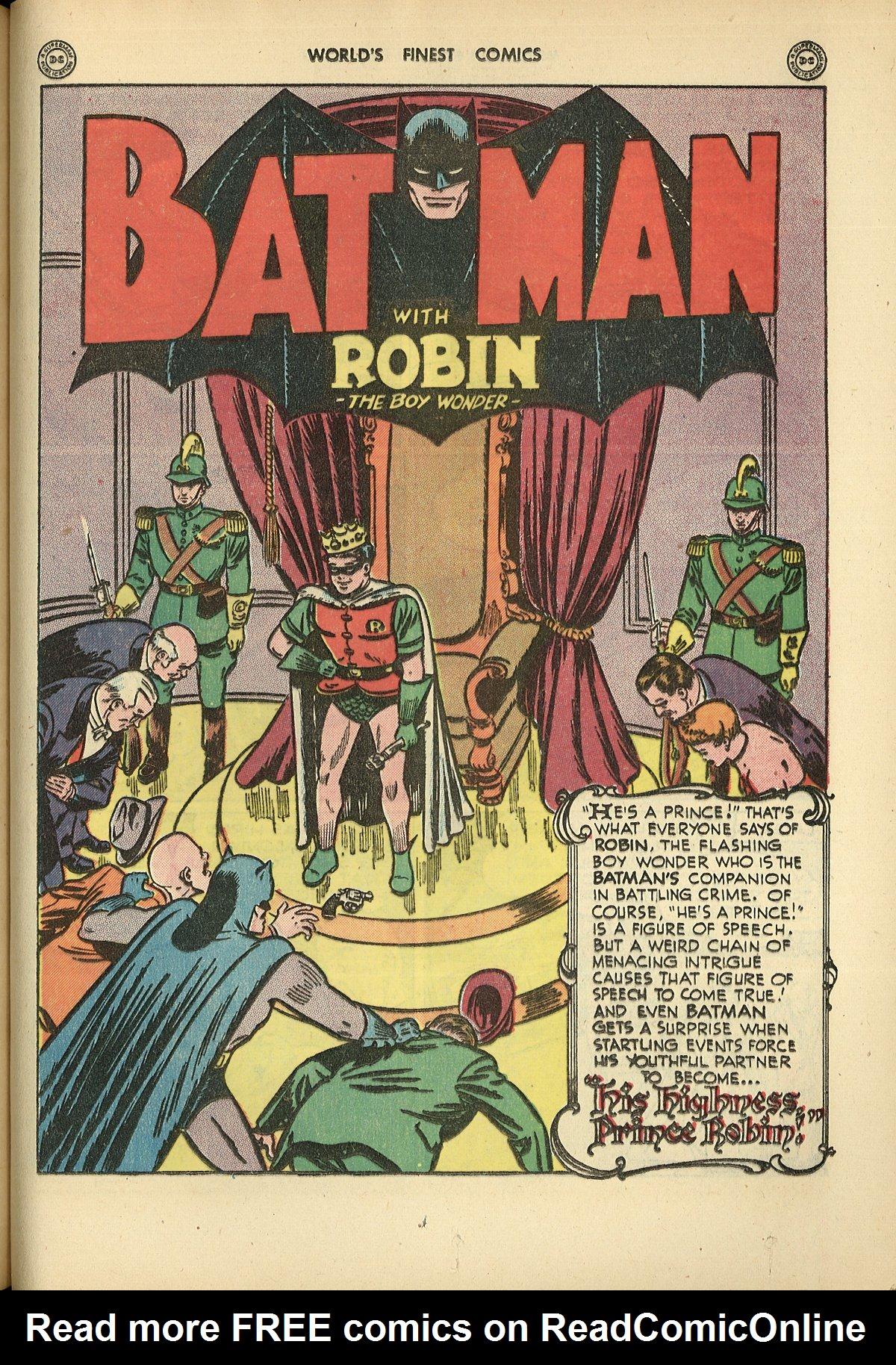 Read online World's Finest Comics comic -  Issue #26 - 61