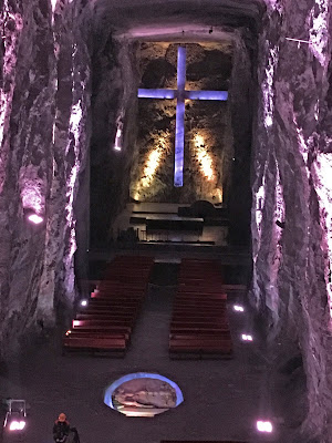 Blog lugares de memória - Matéria sobre a Catedral de Sal da Colômbia