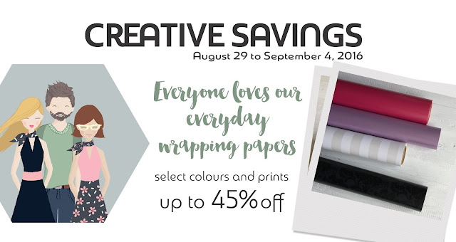 everyday wrapping paper at Creative Bag