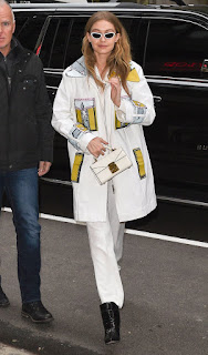 Gigi Hadid Out At Fashion Week In New York