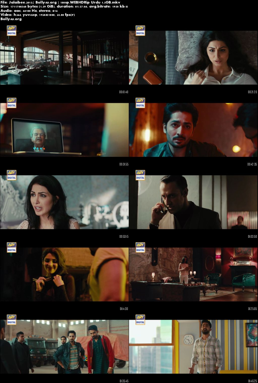 Jalaibee 2015 HDRip 350MB Urdu Pakistani Movie 480p Download