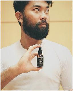 Ombak Beard Oil Minyak Penumbuh BuluRambut Kumis, Jenggot, Jambang, Brewok, Dada 100% Ampuh & Ori