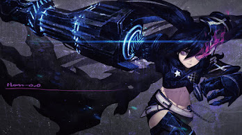 Anime, Girl, Fantasy, Black Rock Shooter, 8K, #316