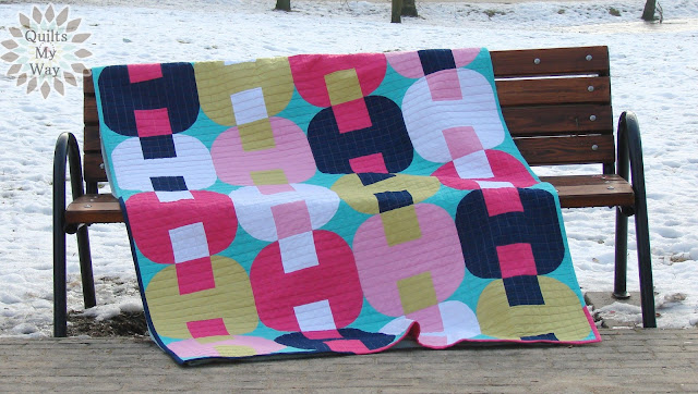 Inspiration blog post series - Jam and Jellies quilt made by Gosia Pawlowska - Quilts My Way