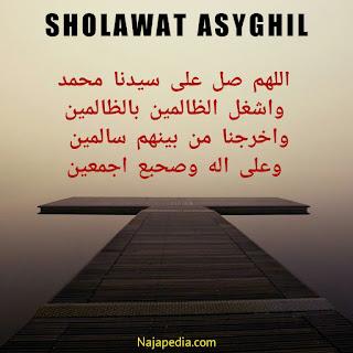 Sholawat Asyghil: Lirik dan Terjemahan (Artinya)