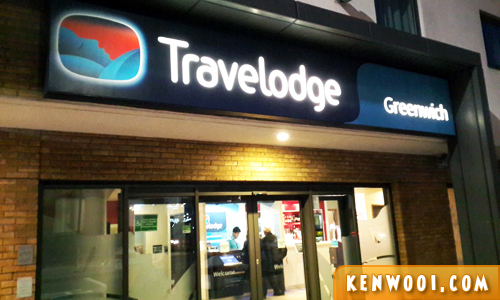 london travelodge greenwich