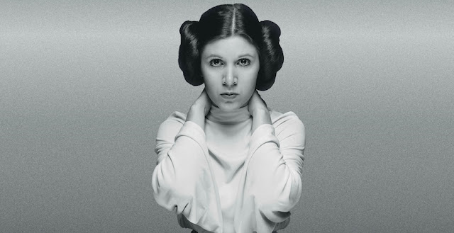 Carrie Fisher (Princess Leia),  October 21, 1956 -  December 27, 2016