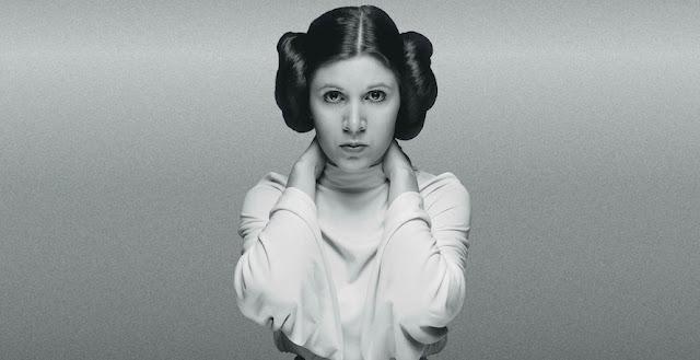 Carrie Fisher (Princess Leia),  October 21, 1956 -  December 27, 2016