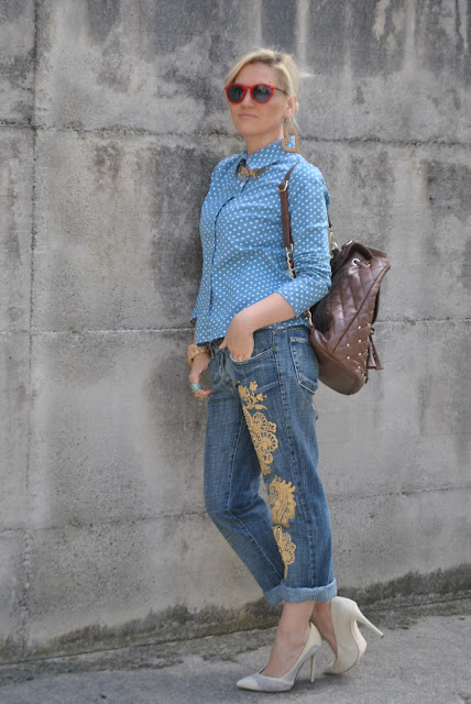 outfit jeans e tacchi come abbinare jeans e tacchi abbinamenti jeans e tacchi jeans and heels how to wear jeans and heels how to combine jeans and heels outfit giugno 2016 spring outfit outfit primaverili  mariafelicia magno fashion blogger color block by felym fashion blog italiani fashion blogger italiane blogger italiane di moda blog di moda influencer italiane