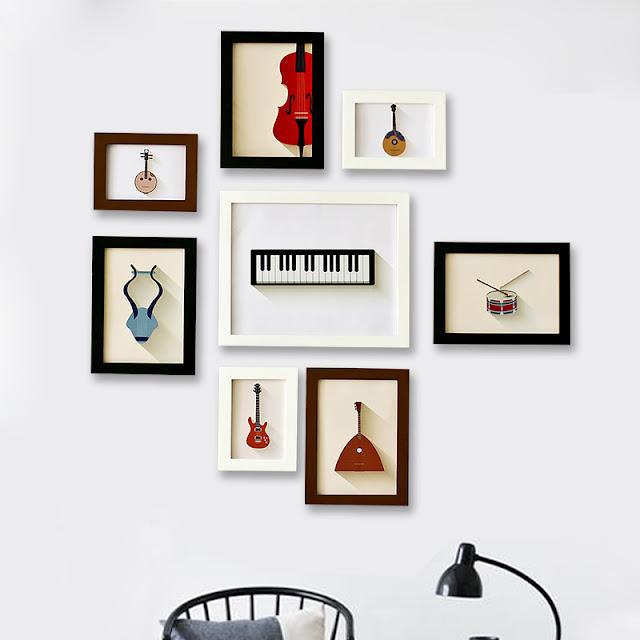 Quadros Decorativos Para Músicos