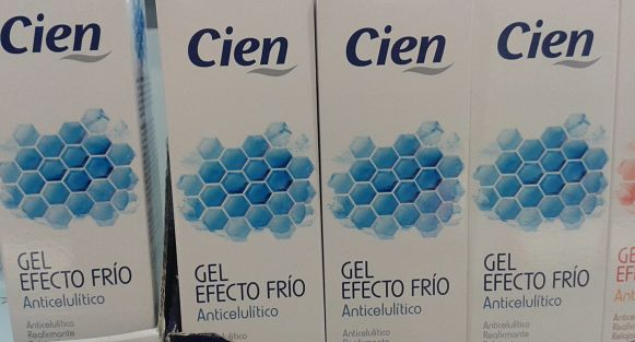 Gel anticelulitico efecto frio CIEN de Lidl