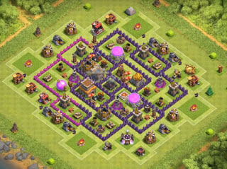 Base Designs With Bomb Tower TH8